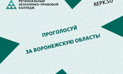 Проголосуй за Воронежскую область!